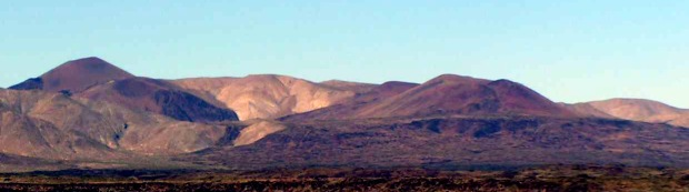 Inyo Mountain Volcanic Cinder Cones