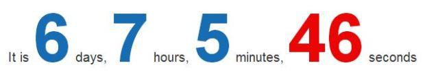 Countdown Again