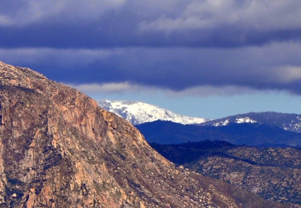 San Diego's El Capitan and Cuyamaca Peak