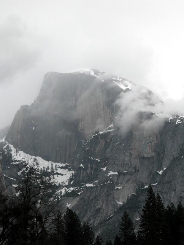 Storm-Scraped Half Dome